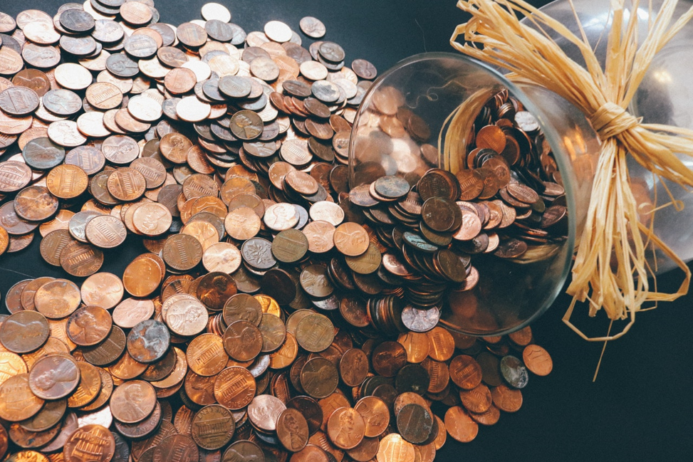 save your change to save your money.
